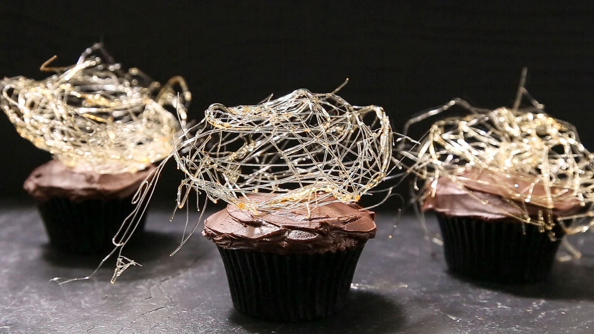 How to Make Spun-Sugar Cobwebs