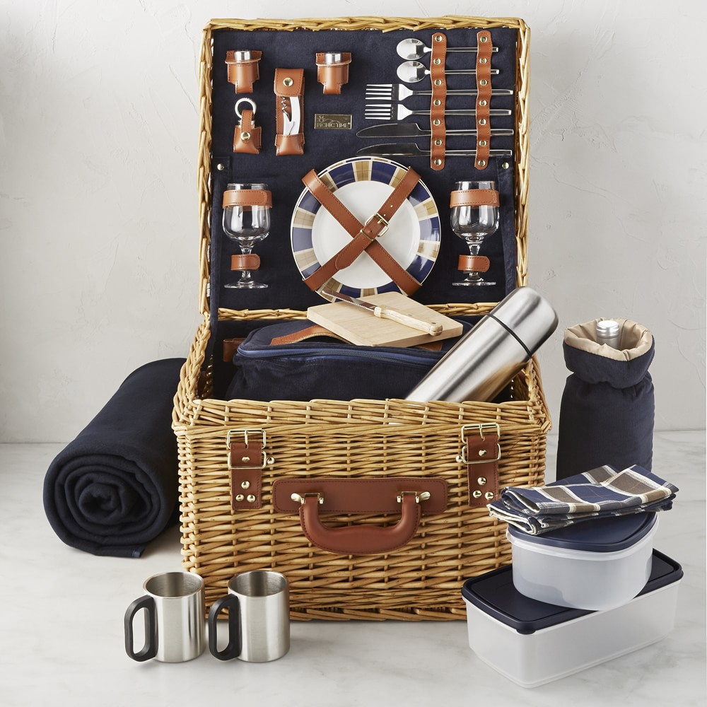 10 Pretty Picnic Baskets That Will Upgrade Your Next Trip to the Park