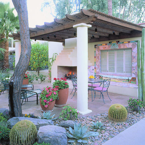 Spotlight On Palm Springs Style Outdoor Areas: Desert Classic In Palm Springs
