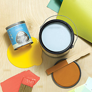 Fume-free paints