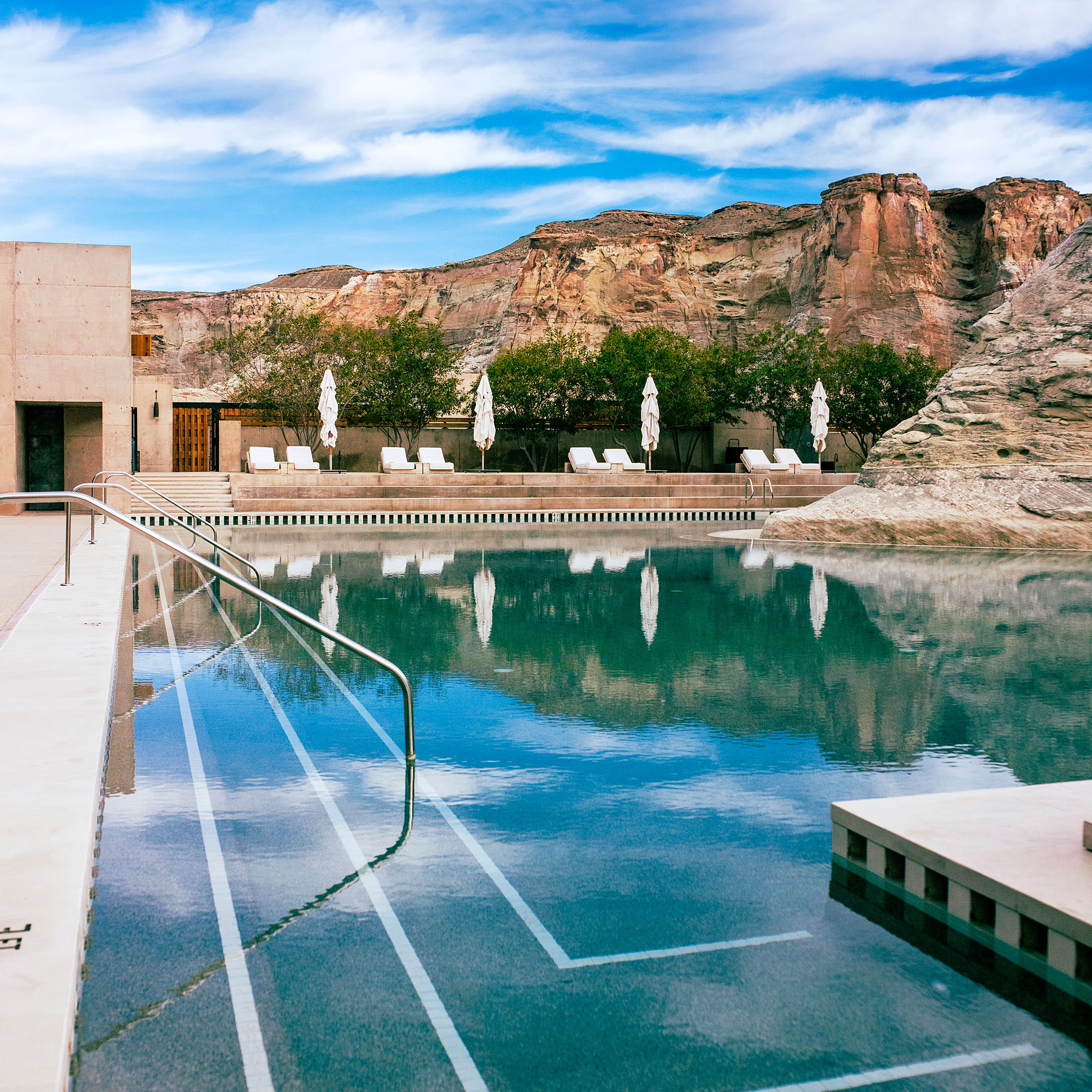 11 best hotel pools sunset magazine for Pool design utah