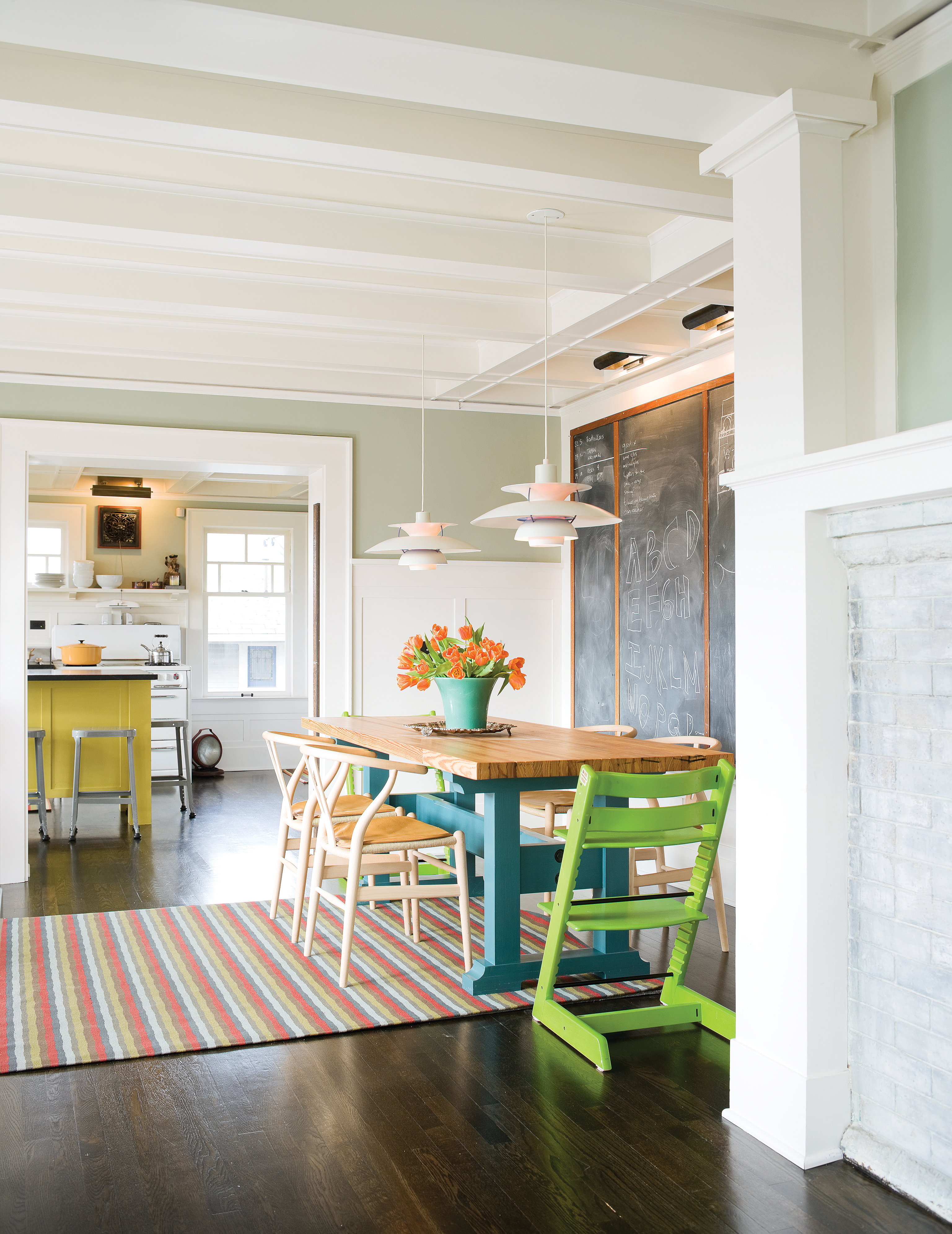 Color Ideas From a Playful House