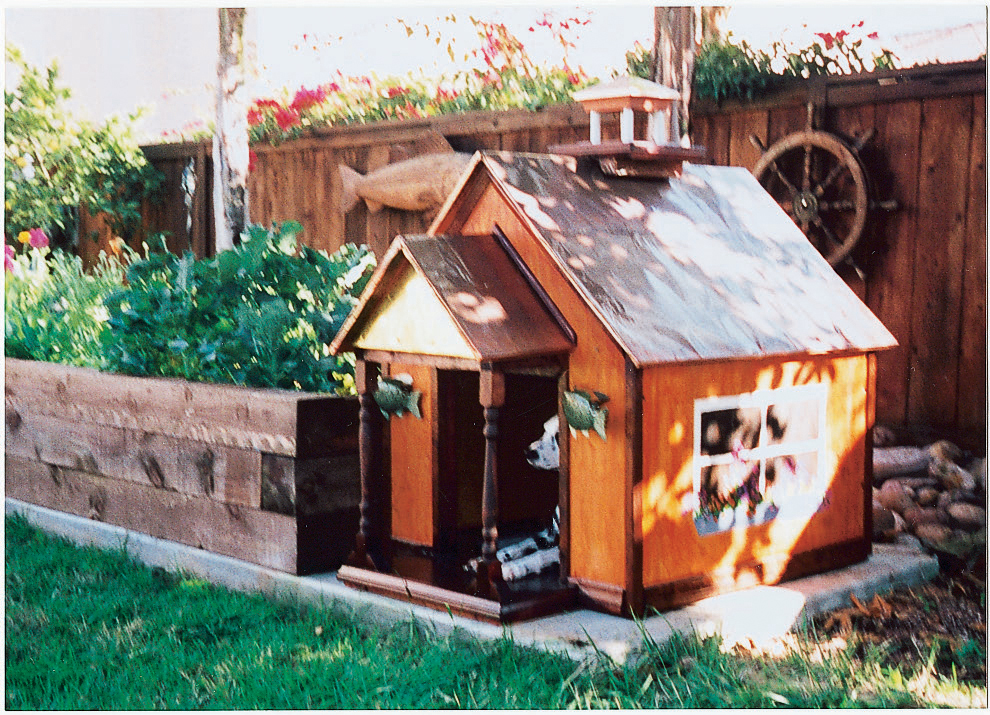 Creative doghouse designs