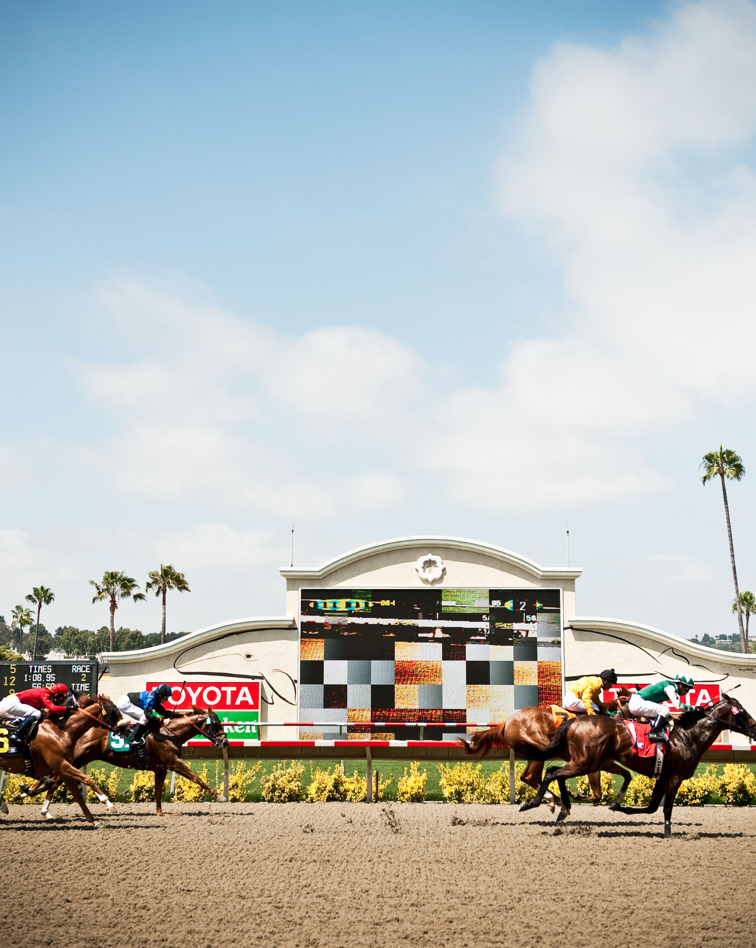 A Day at the Races in Del Mar