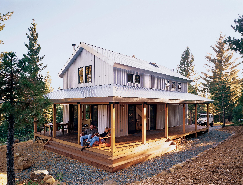 energy efficient cabin plan