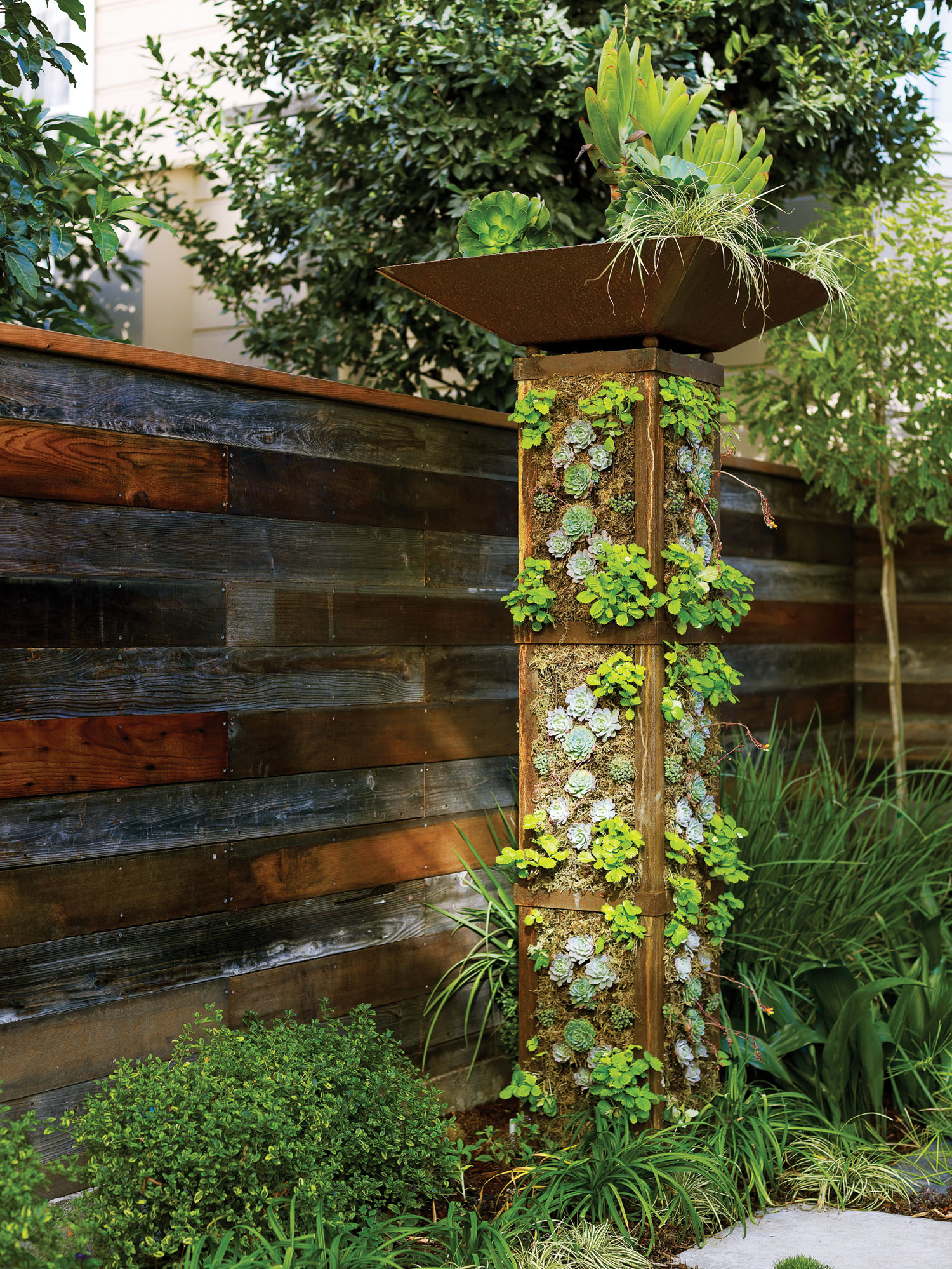 Make a Vertical Garden Tower