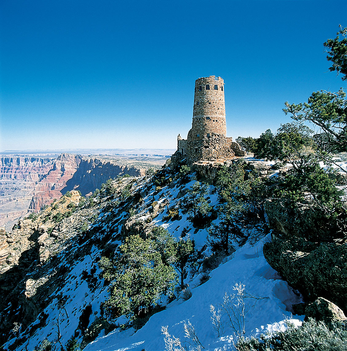 Discovering Snow-Veiled Grand Canyon