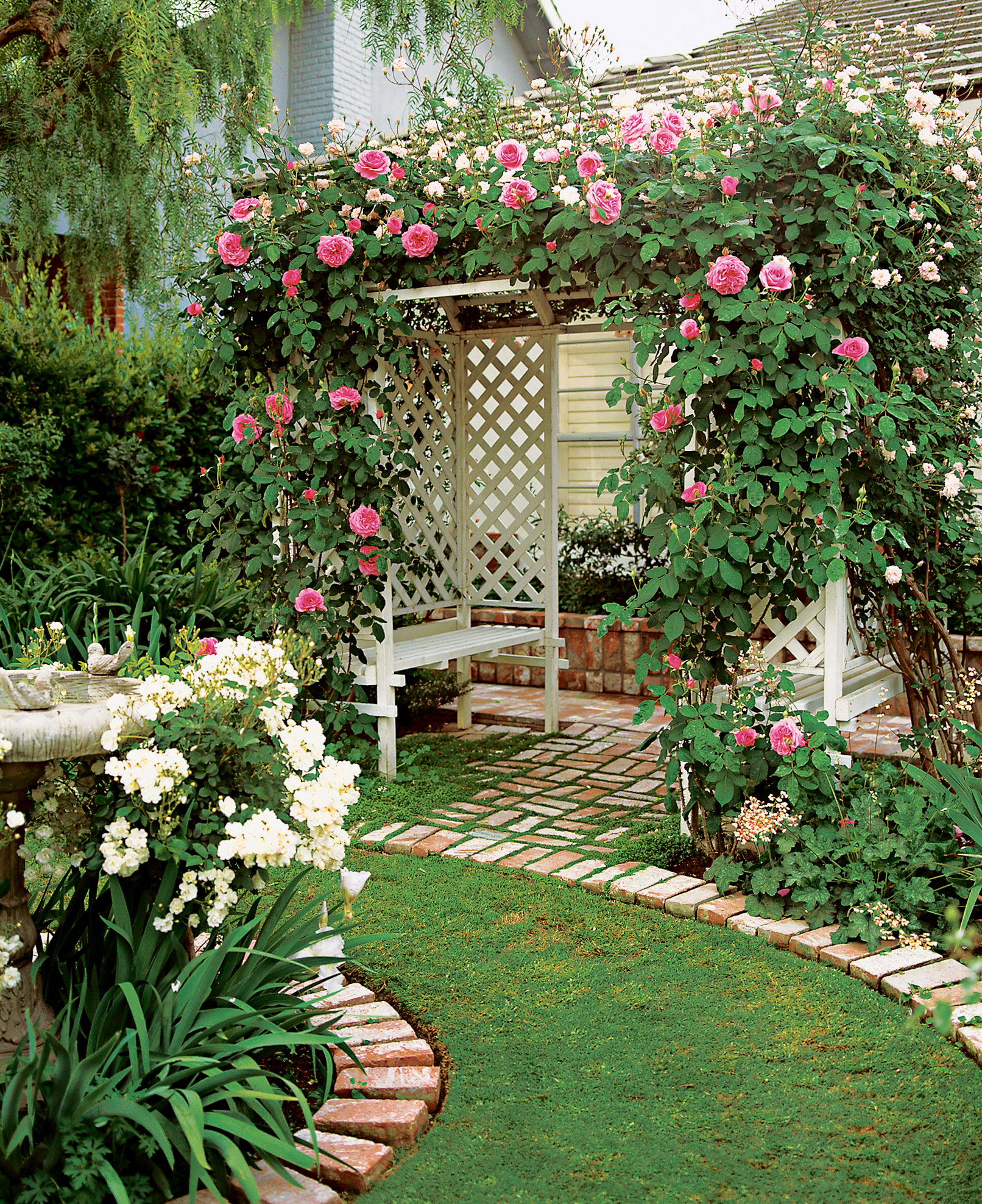 Simple Small Garden Design Ideas: - Sunset Magazine