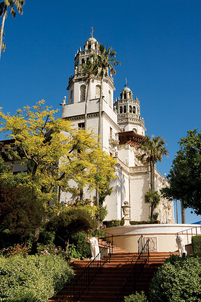 The magic castle, San Simeon