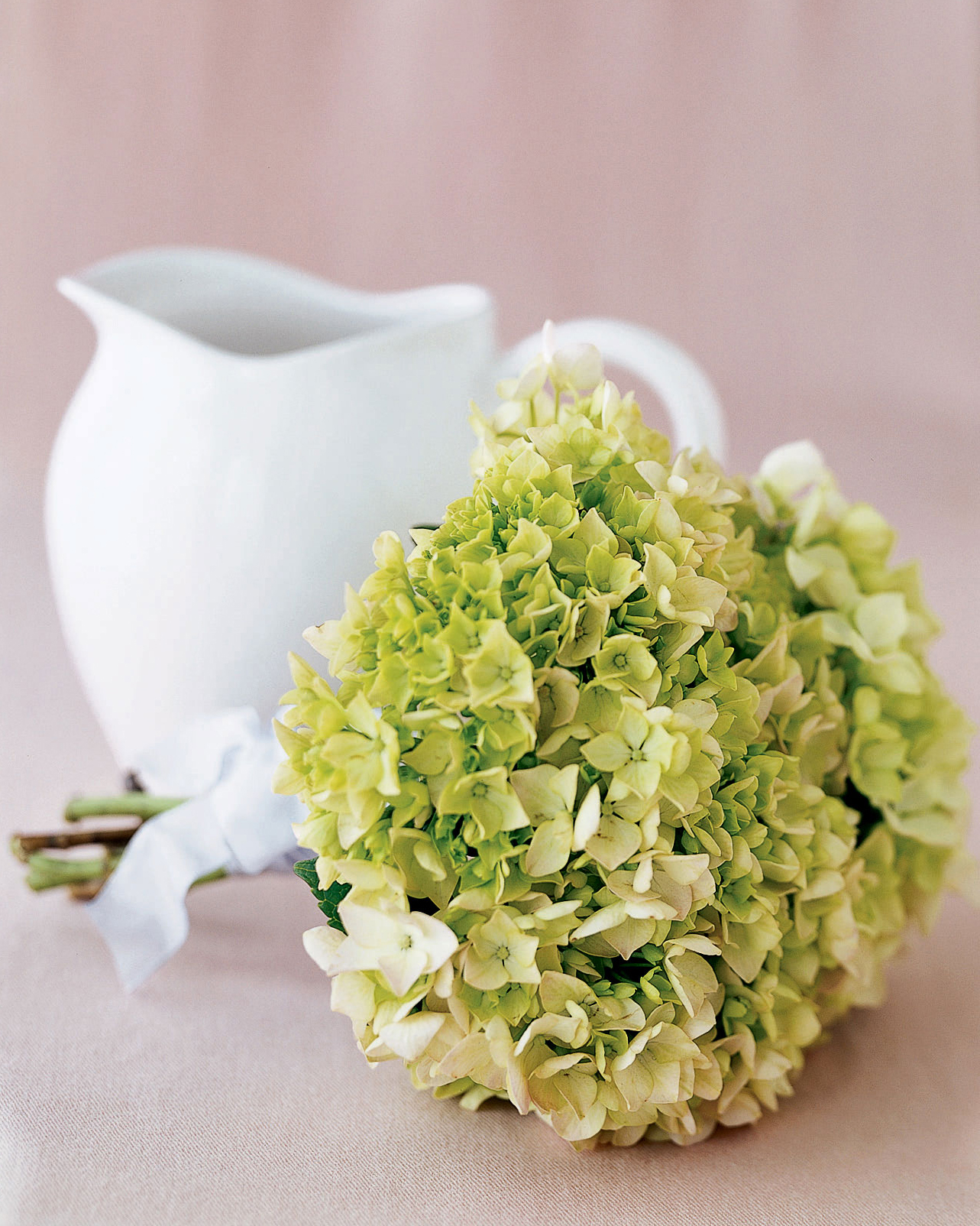 Create a Bouquet of Hydrangeas