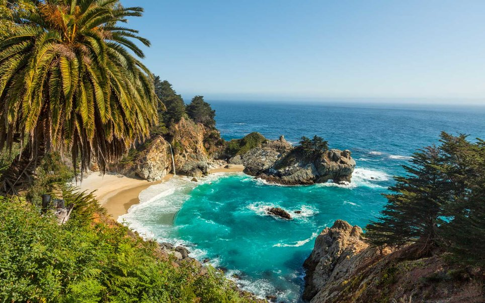 California: Julia Pfeiffer Burns State Park, Big Sur