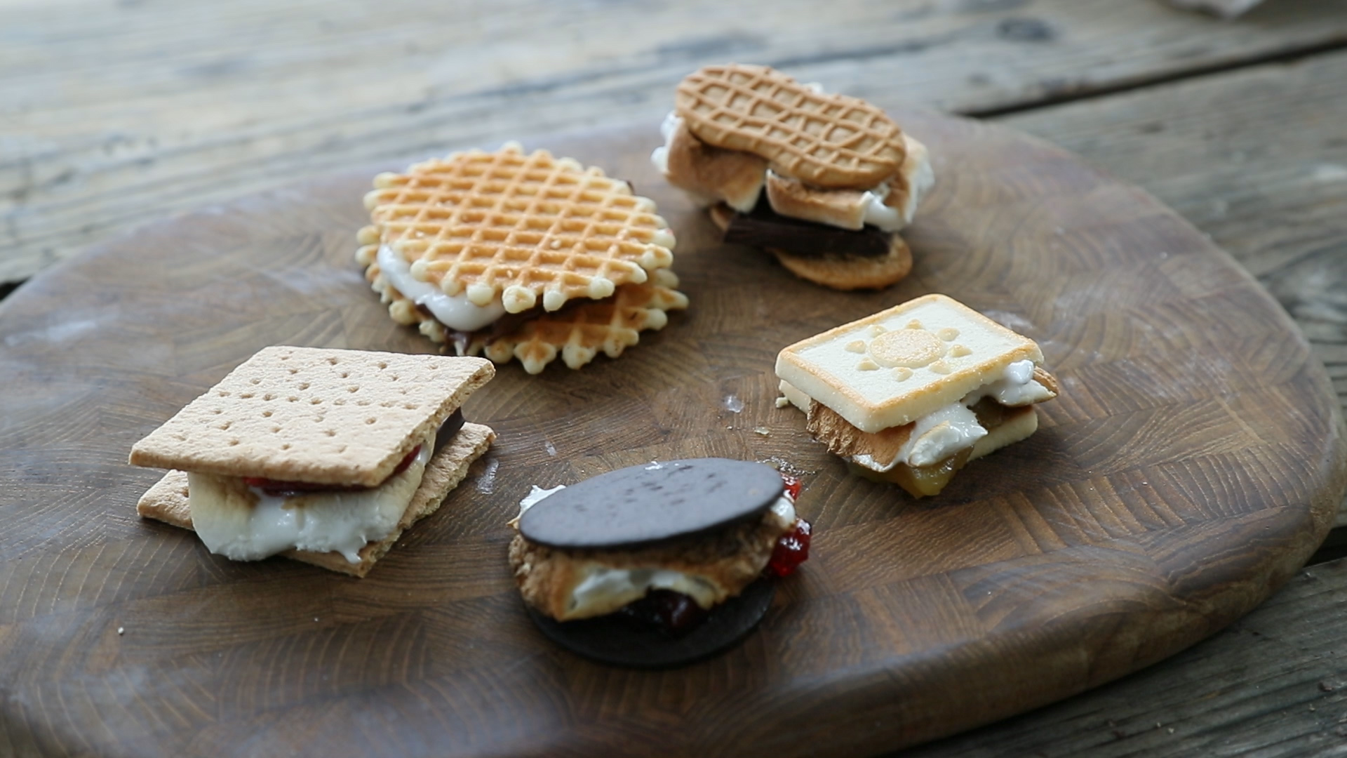 How to Make Gourmet S'mores
