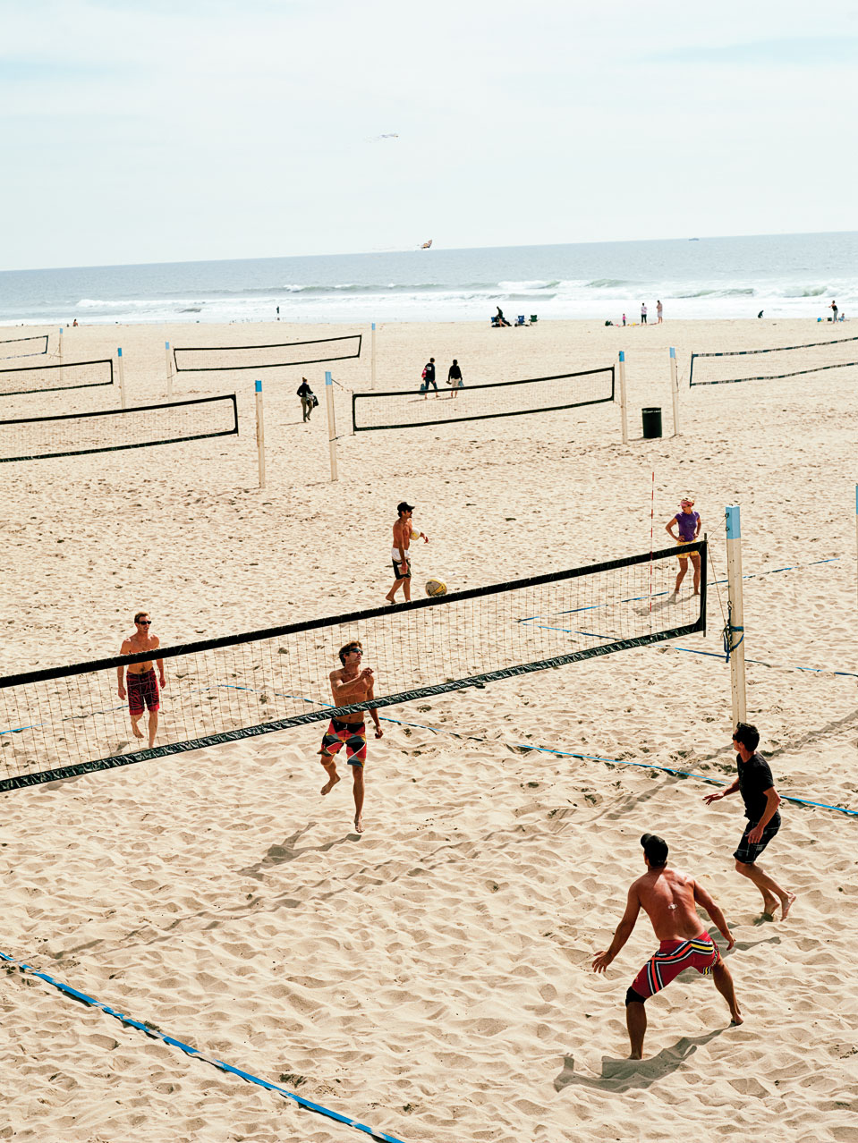 Huntington Beach volleyball - Huntington Beach, CA