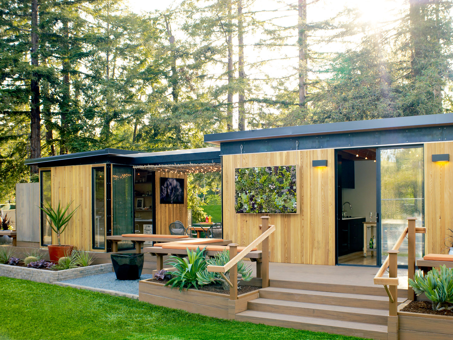 See How One Couple Built A Retreat In The Oregon