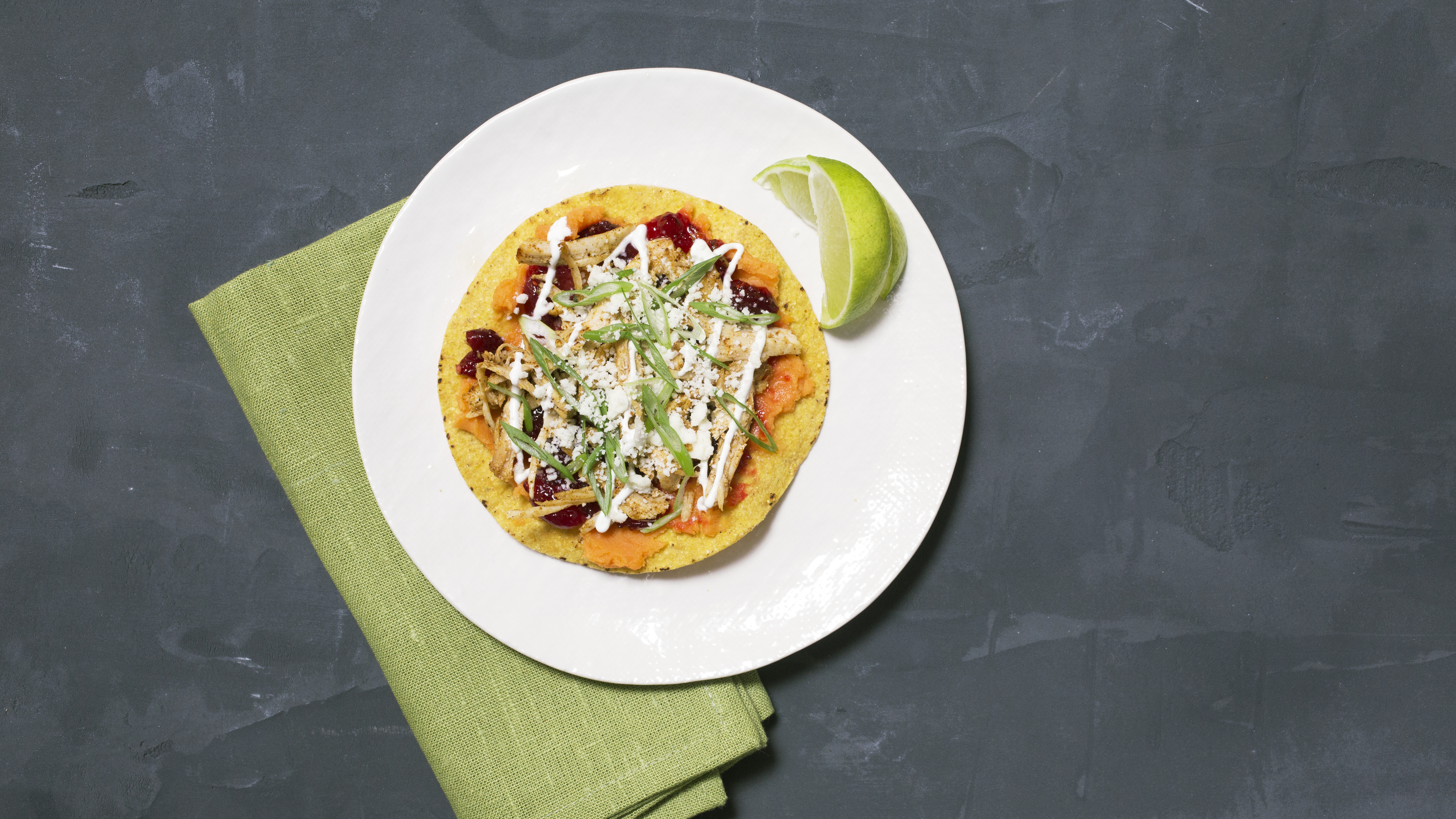 How to Make Thanksgiving Leftovers Tostadas