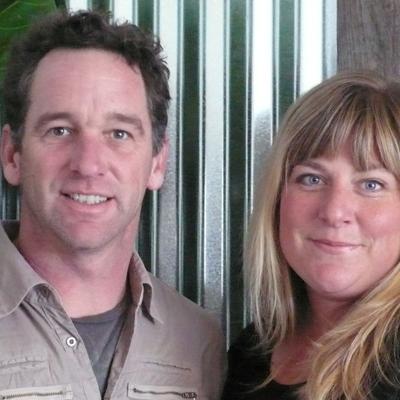 Will and Cara Meyers, Garden designers, DIG Gardens and Hidden Gardens Nursery