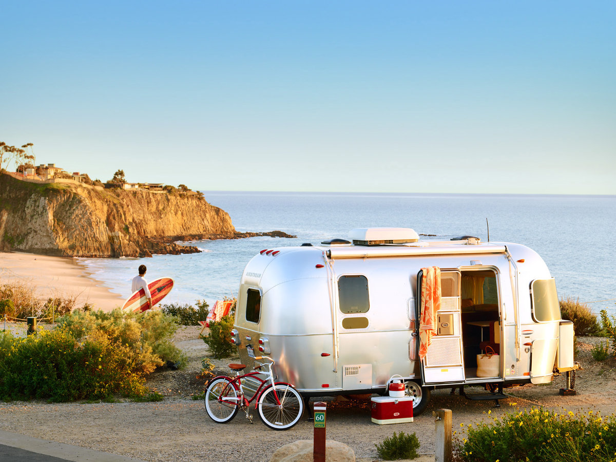 Camping In Northern California Beach