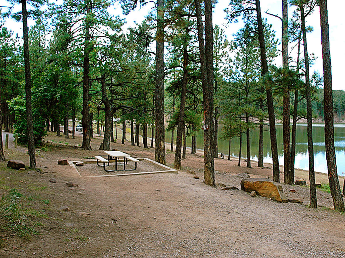 Morphy Lake State Park Campground, NM