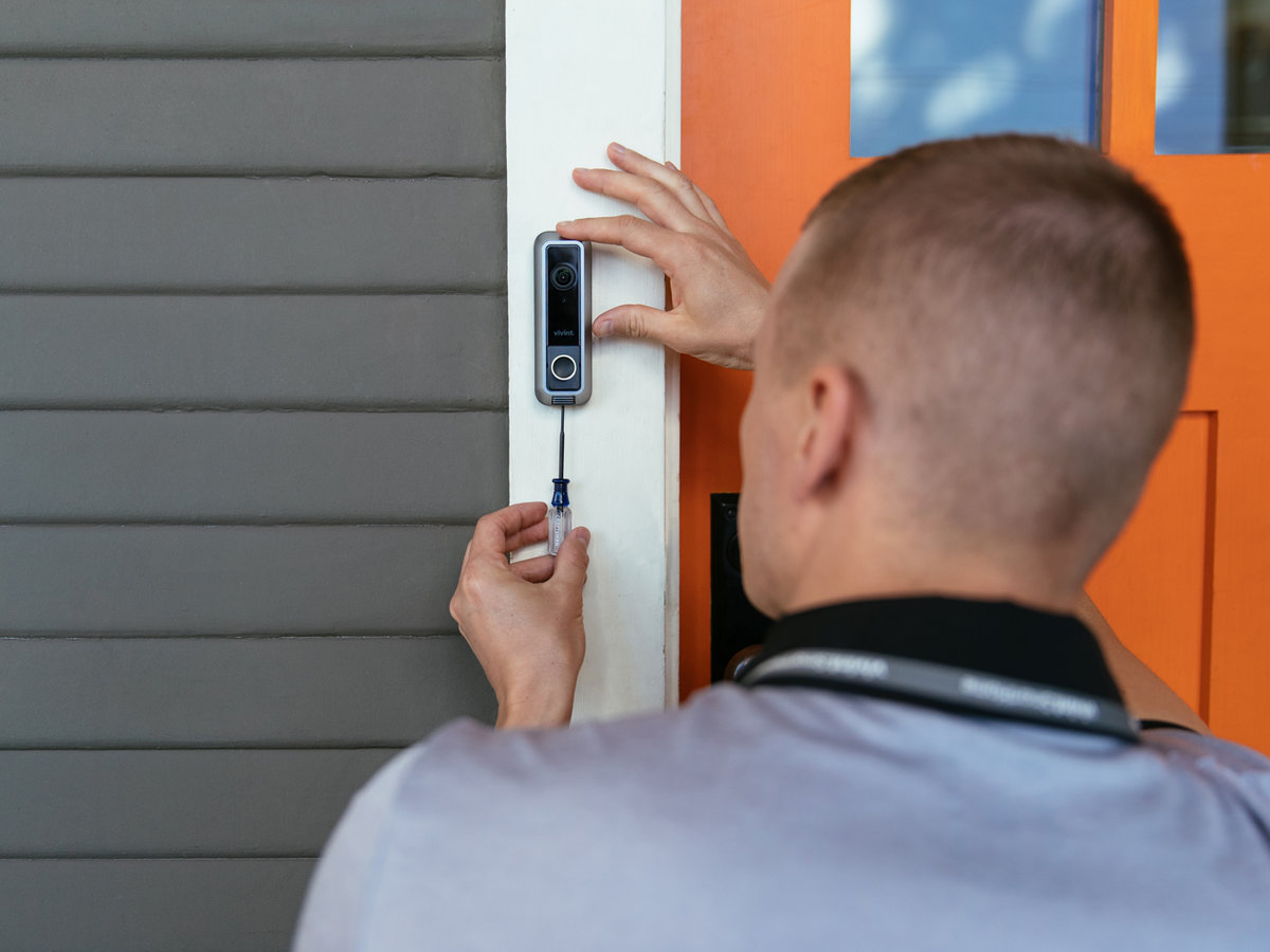 Vivint Smart Doorbell Installation