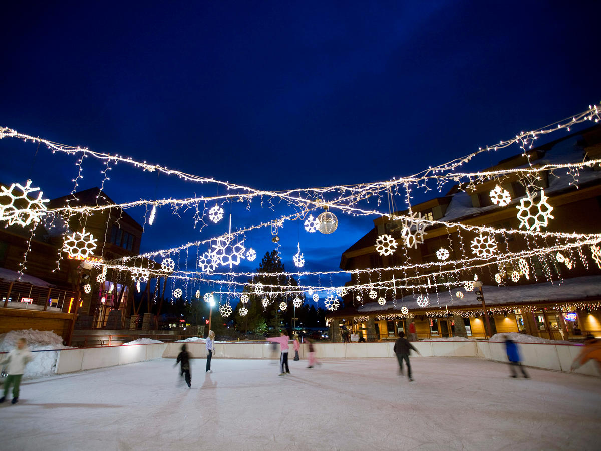 Heavenly Village Ice Rink