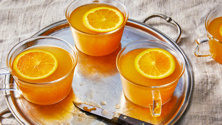 Mulled Pineapple Wine Punch