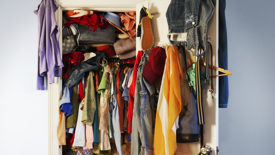 10 Steps to an Organized Closet