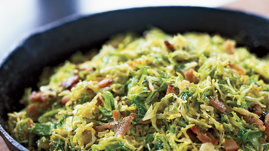 Sprouts With Pancetta And Parmesan Recipe