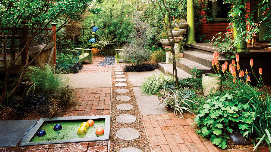 Playful Front Yard Makeover