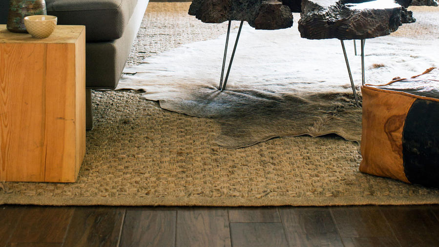 Layer Rugs for a Fun Vibe