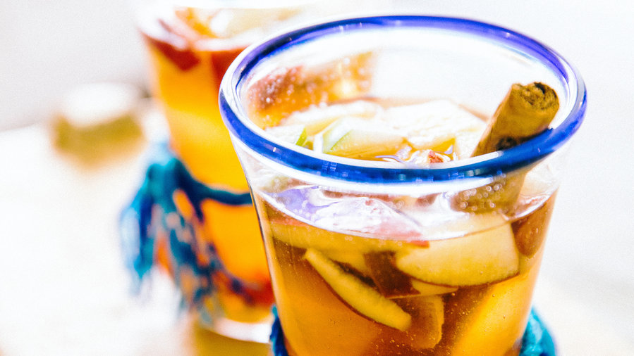 Warm Tequila Punch