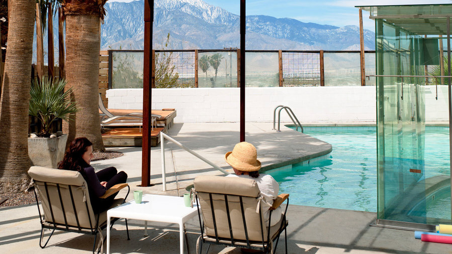 For spa goers: Desert Hot Springs, CA