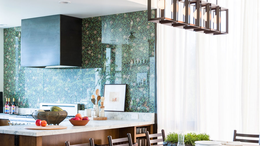 Reimagine the backsplash