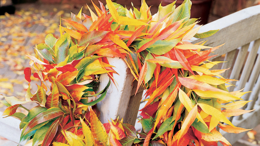 4 Ways to Decorate with Fall Leaves