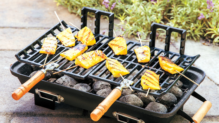 Small-Space Charcoal Grill