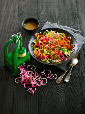 How to Make Sesame Zoodle Salad