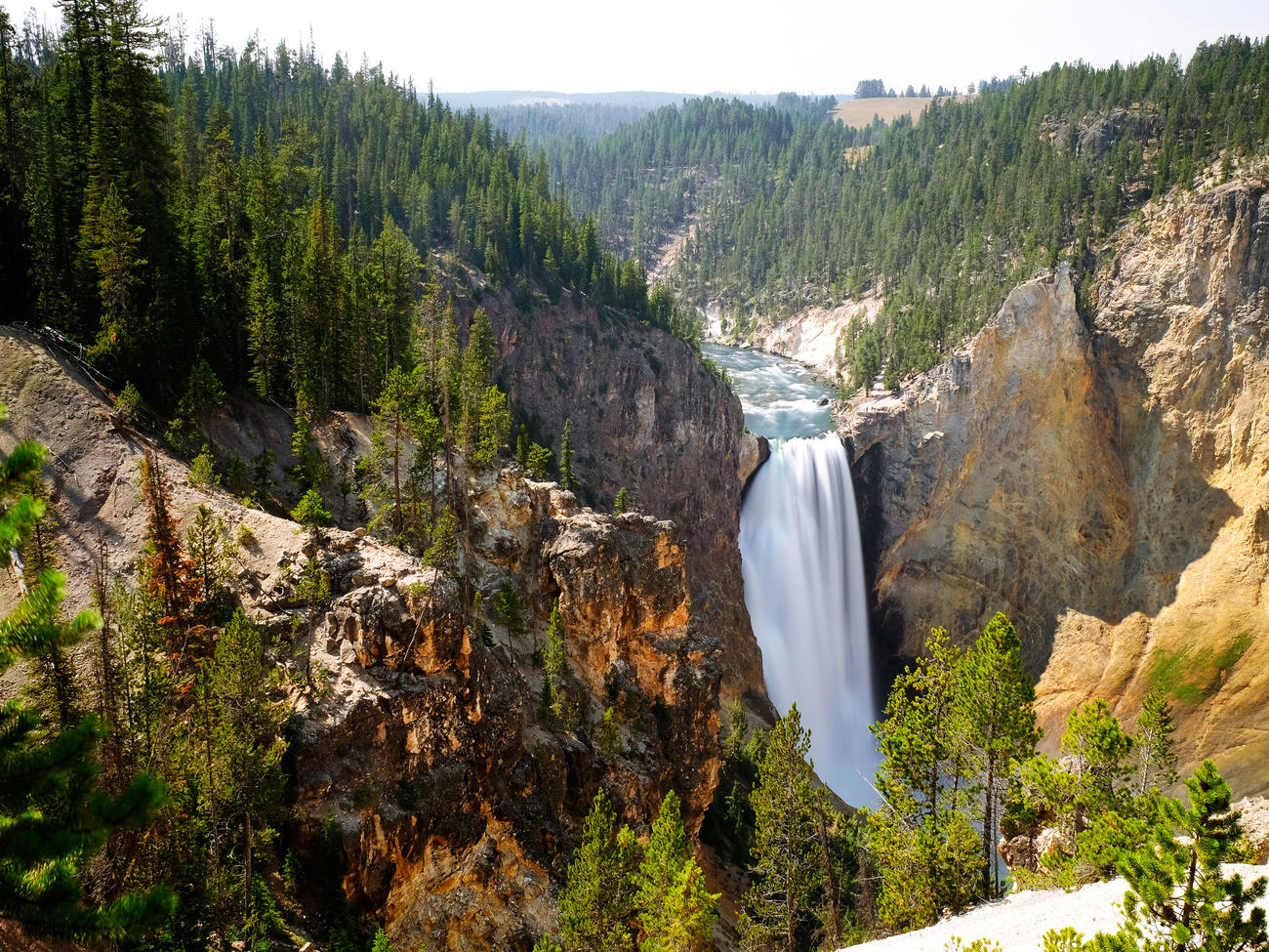 how to get to yellowstone park