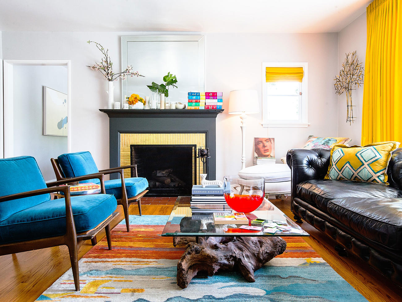 15 Ways to Add Bold Color to Your Home