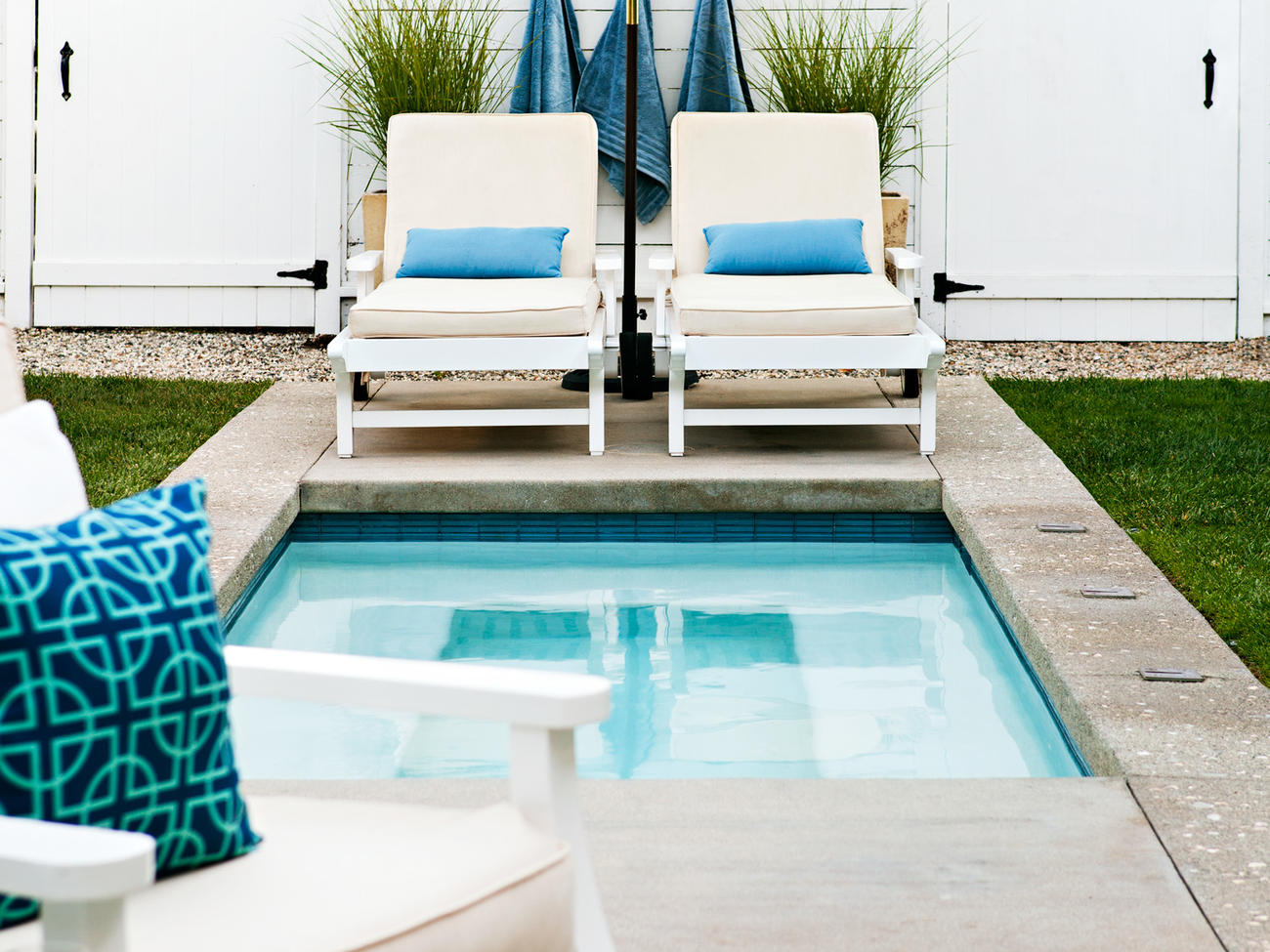 Give Your Backyard a Beach Club Look