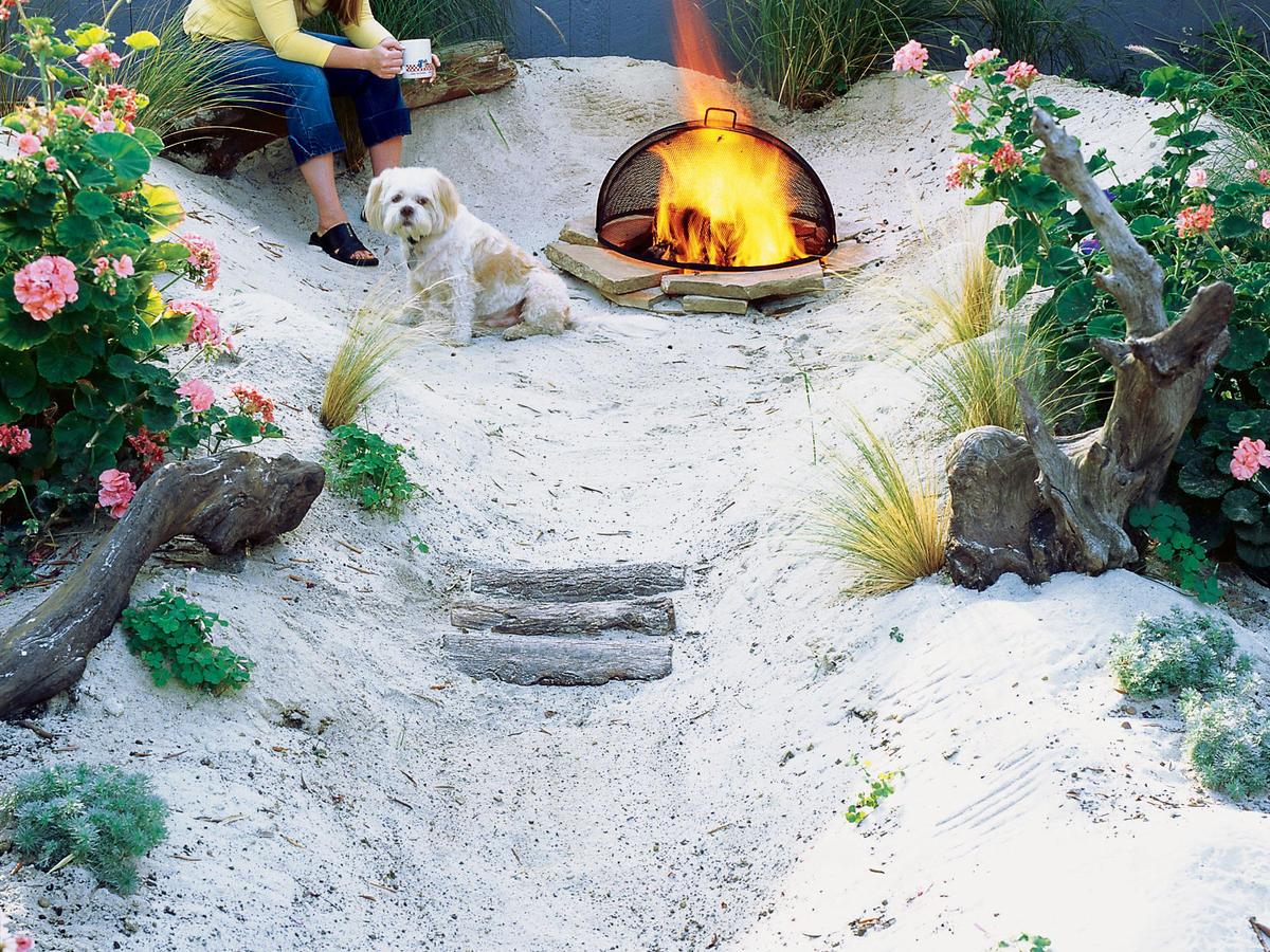 Build a Beach - Sunset Magazine