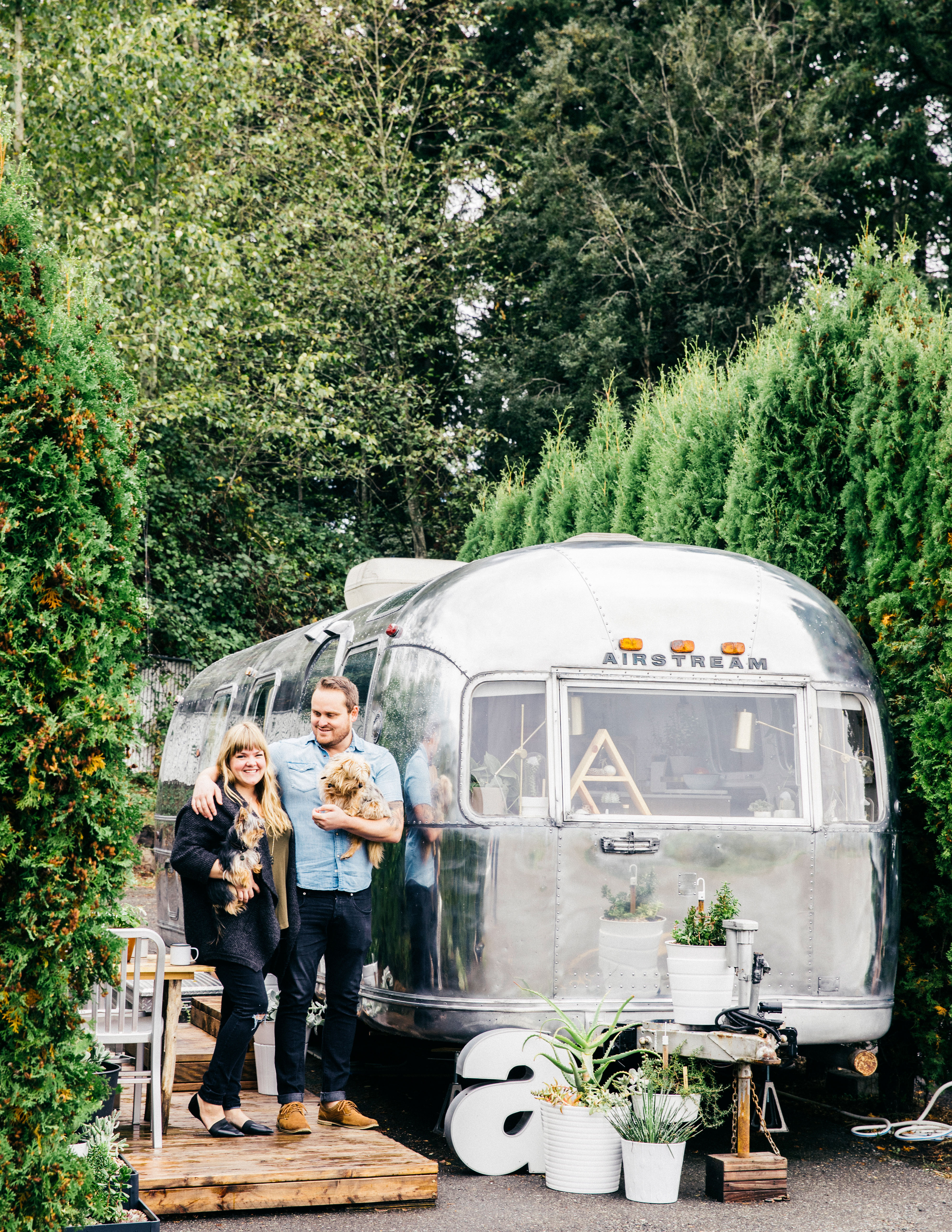 how to live in a 200 square foot airstream sunset magazine