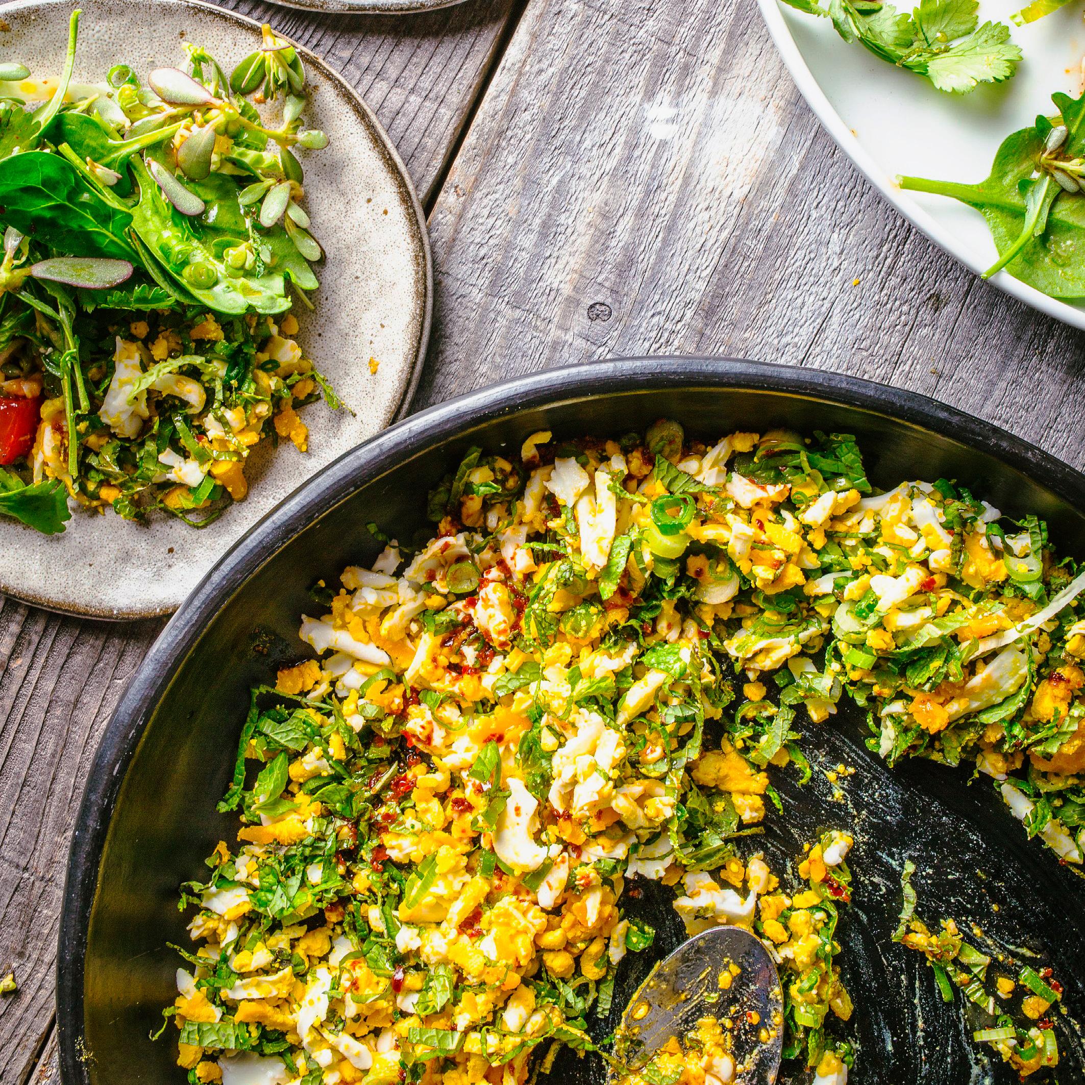 su-Mint and Egg Salad
