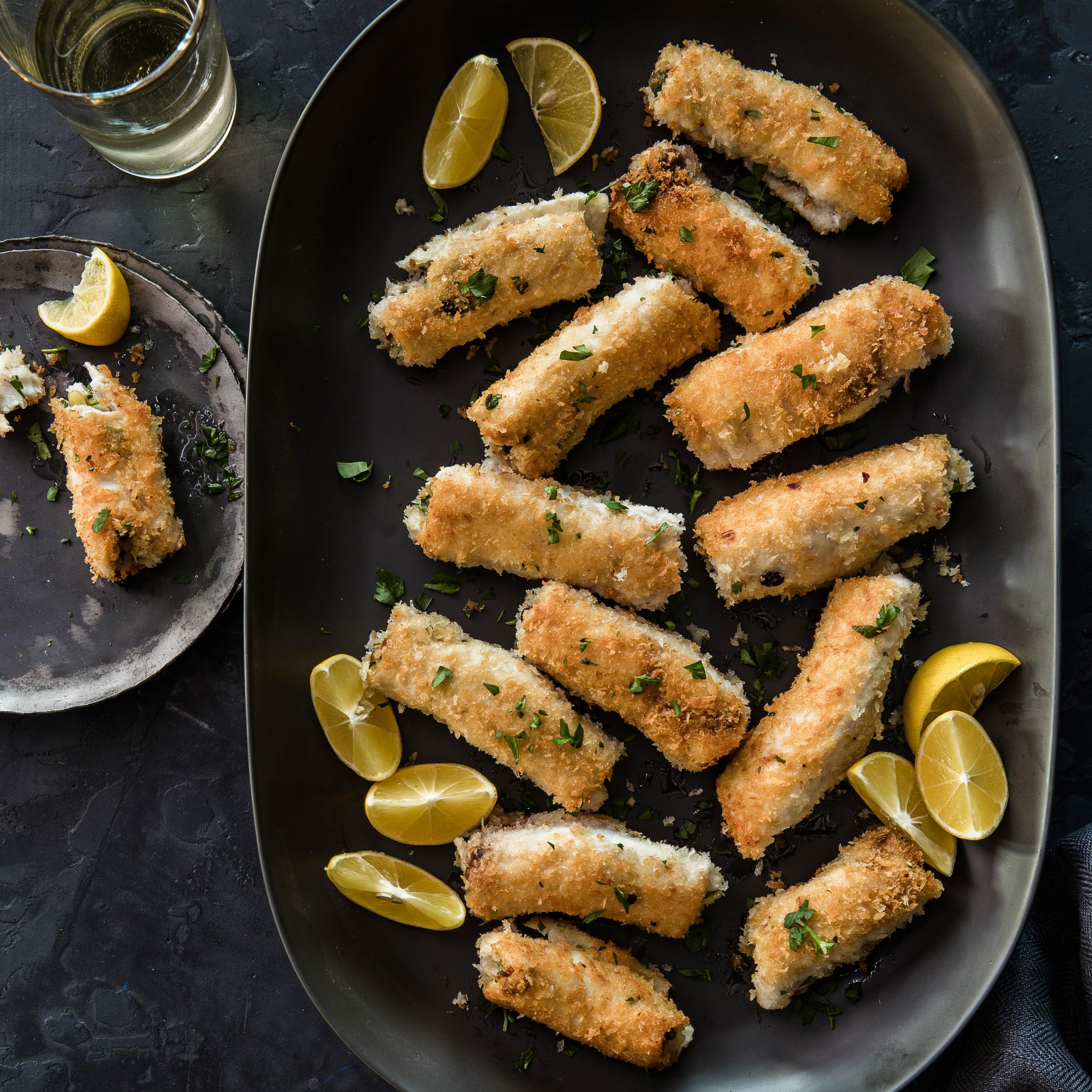 su-Sicilian Swordfish Rolls (Involtini di Pesce Spada)