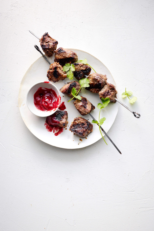 Grilled Spiced Lamb Skewers (Shashlik)