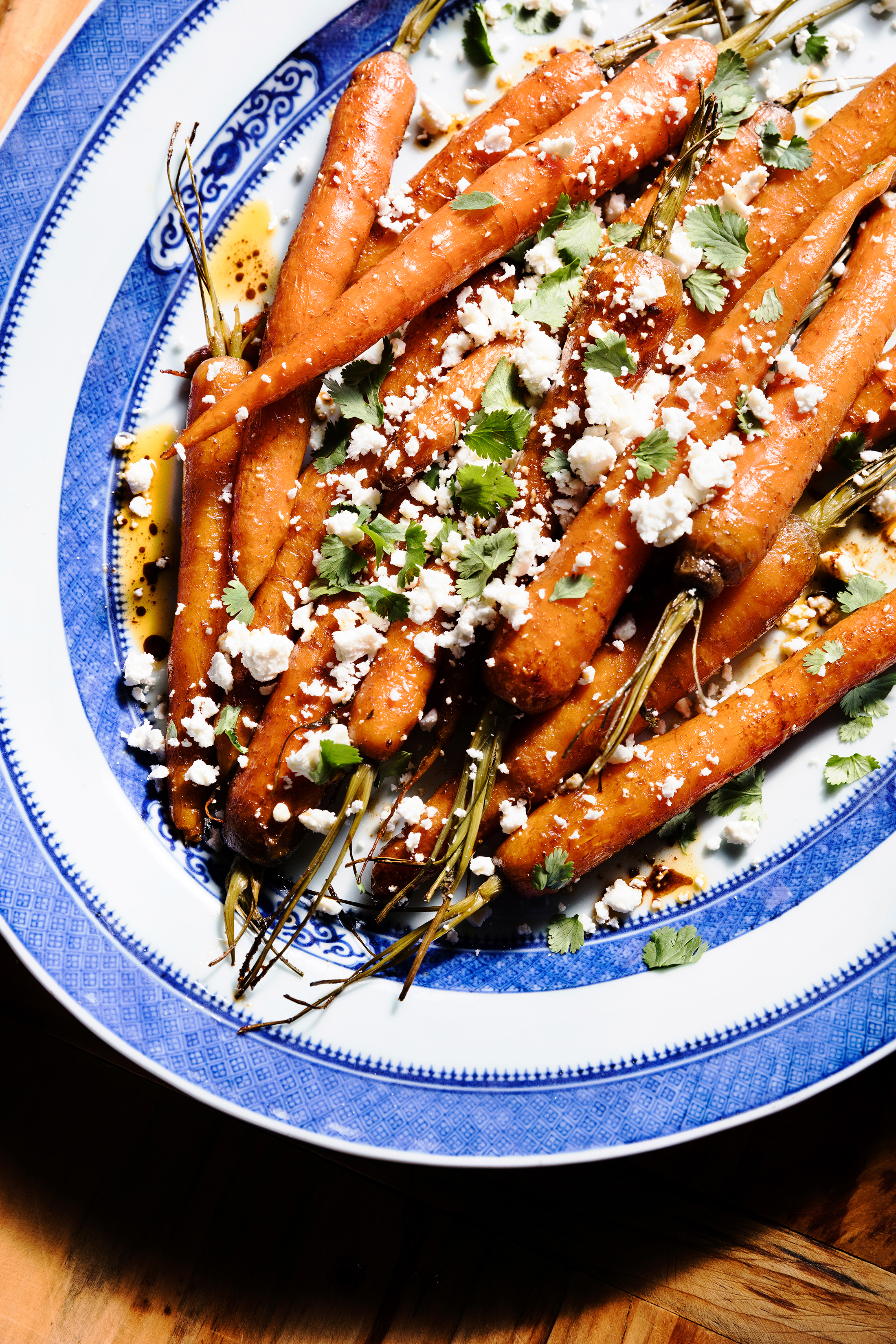 su-Rum and Honey-Roasted Cayenne-Cumin Carrots