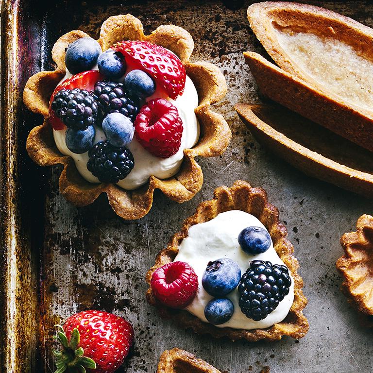 su-Berry Tartlets Image