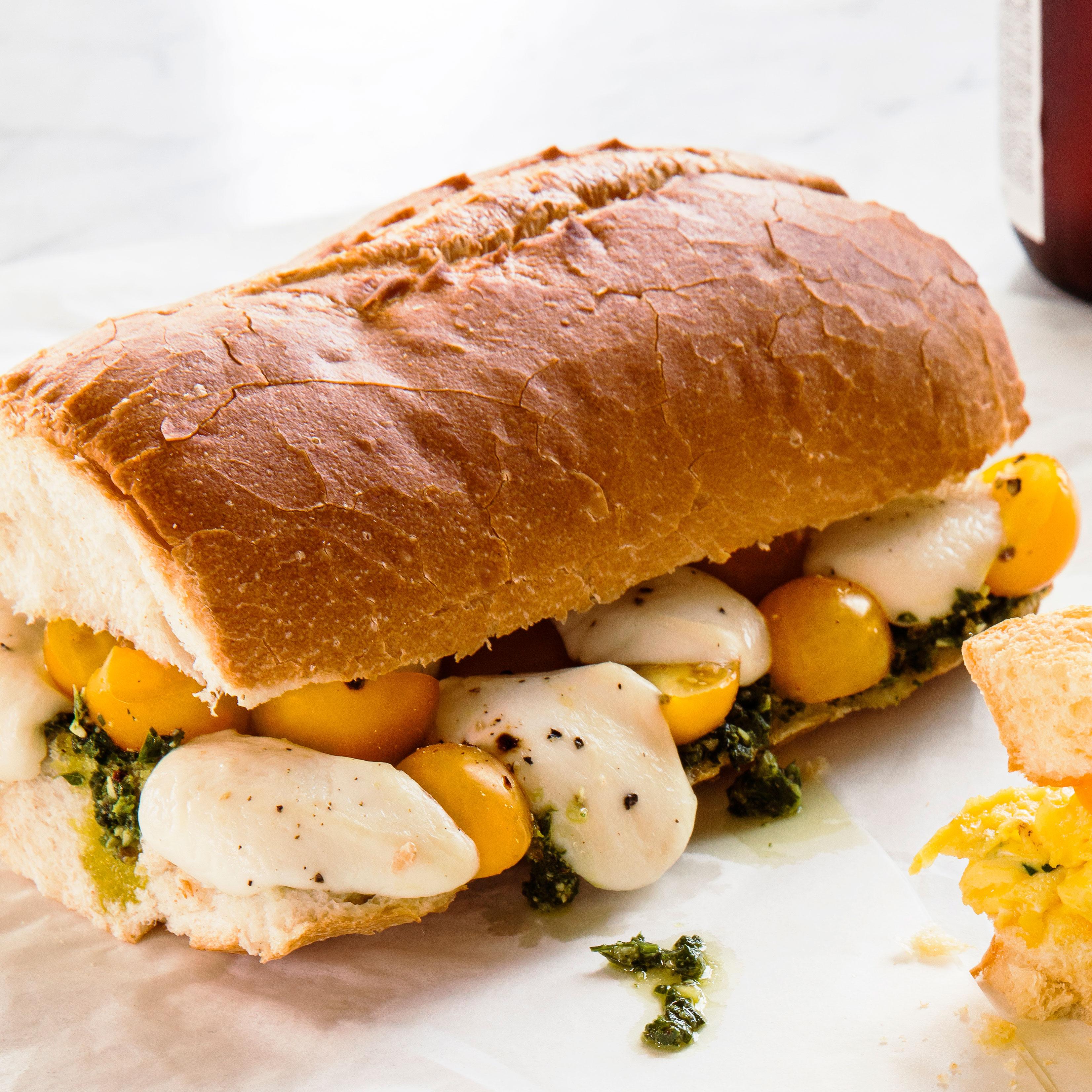 su-Caprese Sandwiches Image