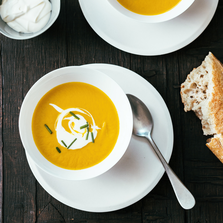 su-Carrot Soup with Anise Image