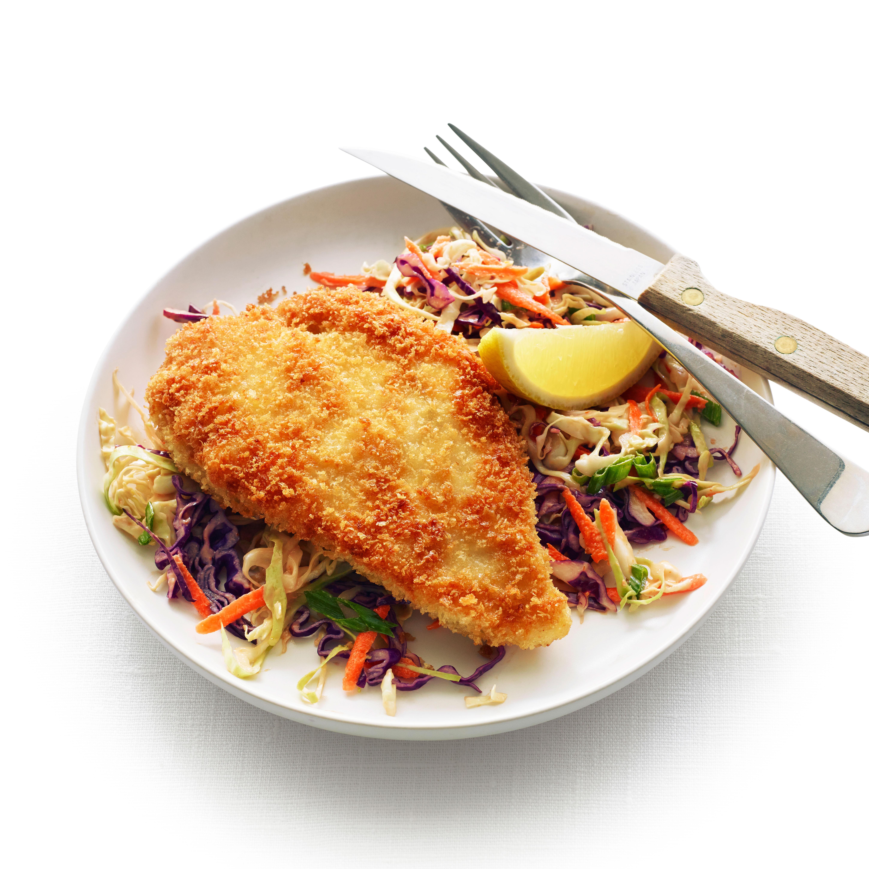 su-Chicken Katsu with Tonkatsu Slaw Image