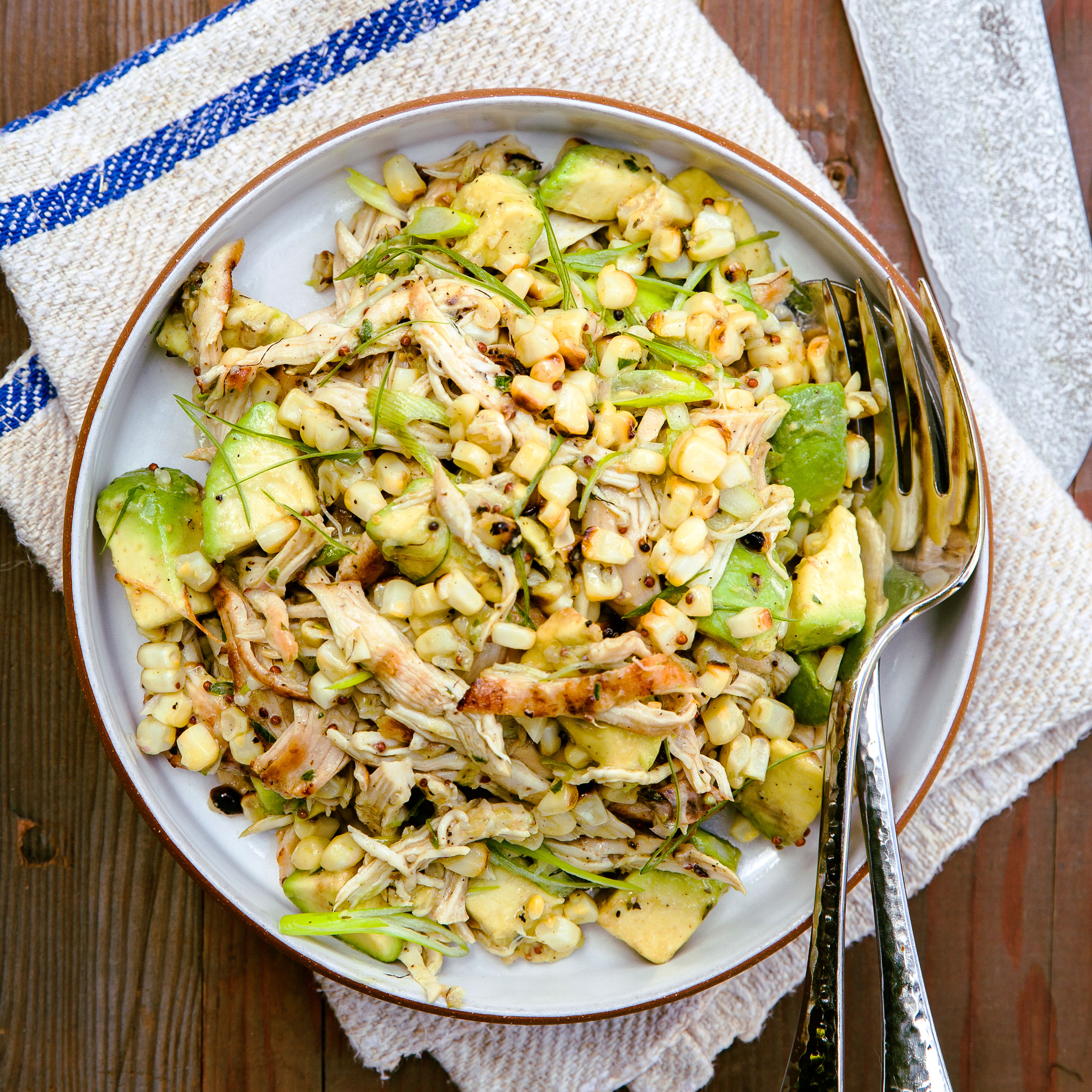 Chicken Salad With Miso Dressing Recipe Sunset Magazine