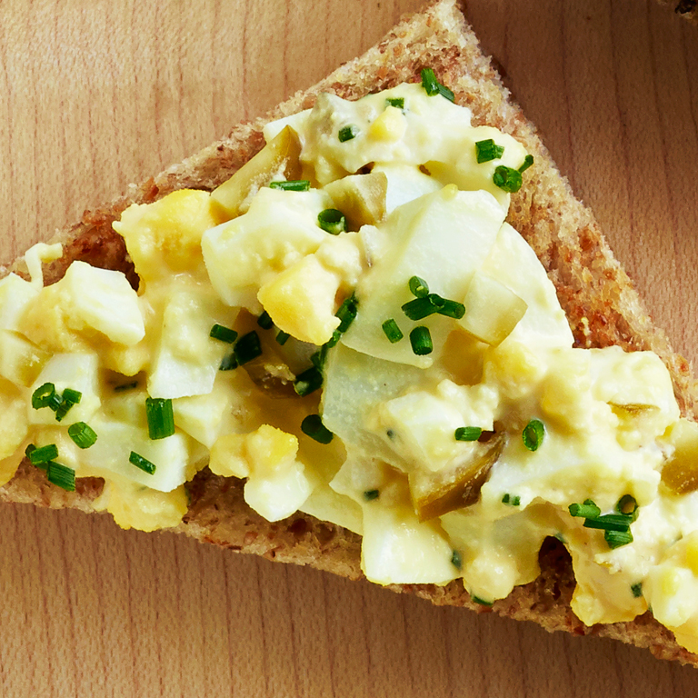 su-Classic Egg Salad Sandwiches Image